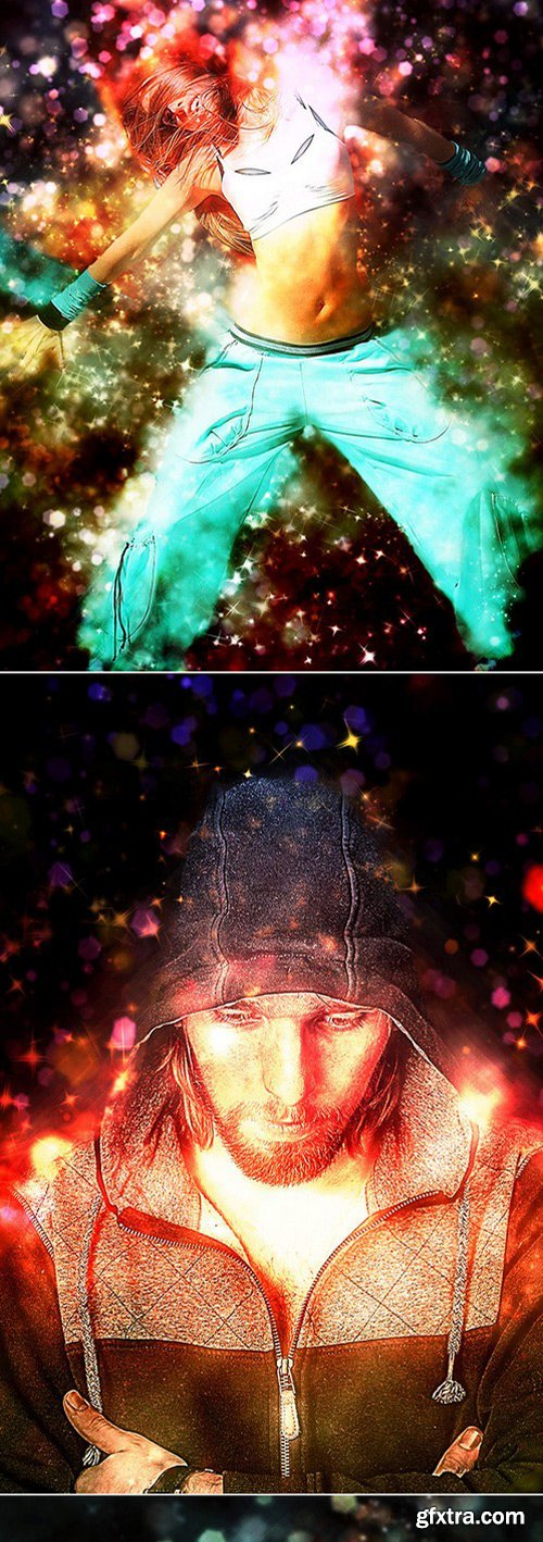 Graphicriver - 12966631 Shimmer Photoshop Action