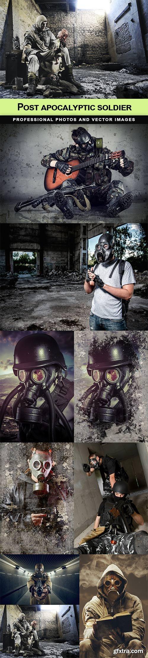 Post apocalyptic soldier - 9 UHQ JPEG