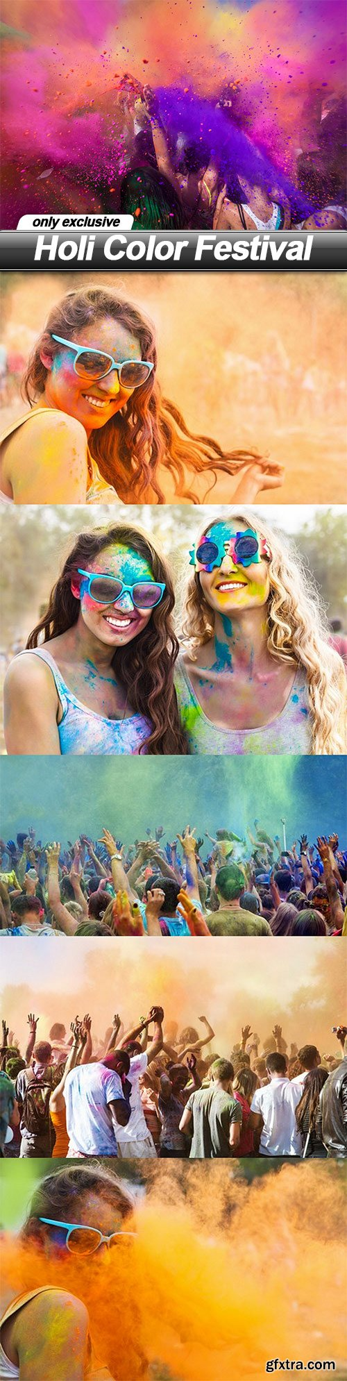Holi Color Festival - 6 UHQ JPEG