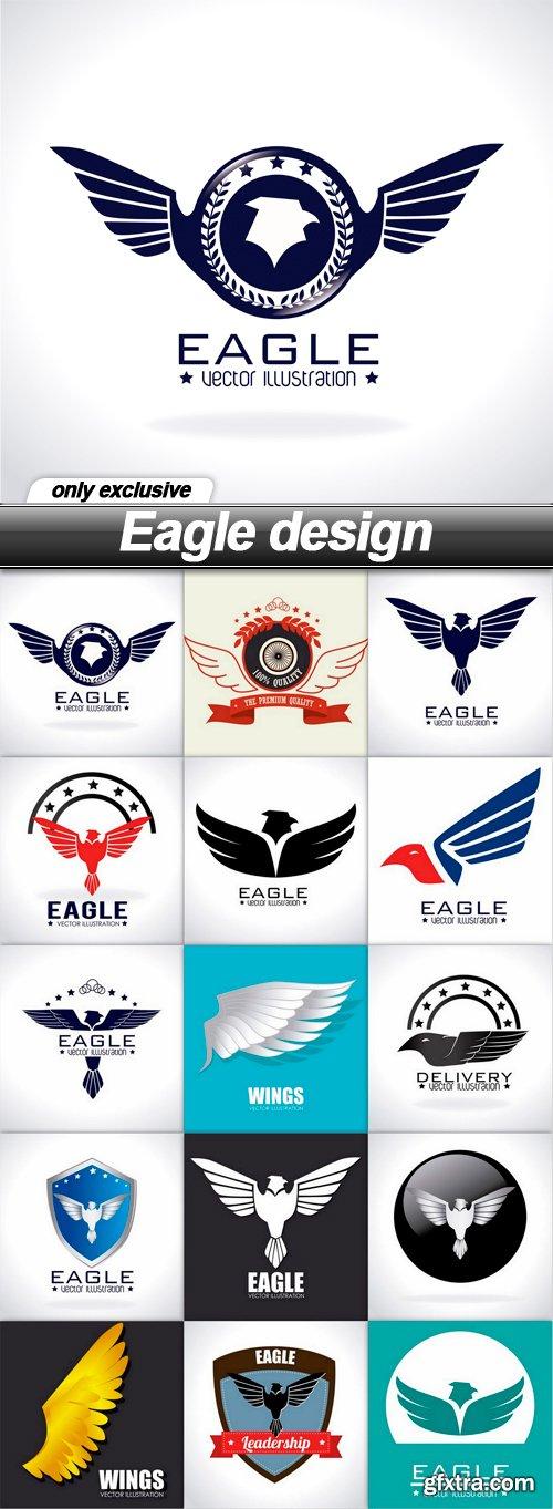 Eagle design - 15 EPS