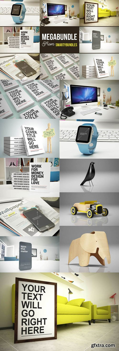 Graphics & Mock-ups Megabundle from Smartybundles