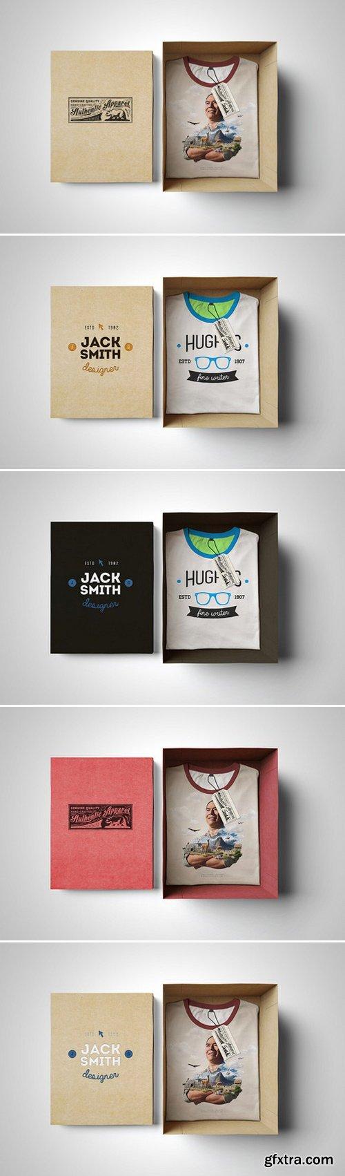 CM - T-Shirt Mockup Box Edition 398050