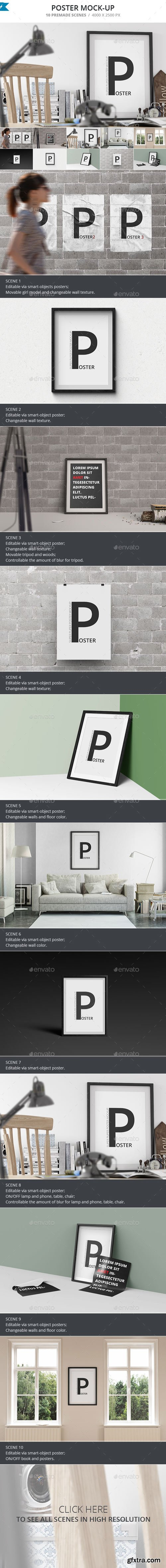 Graphicriver - 13043695 Poster Mock-up
