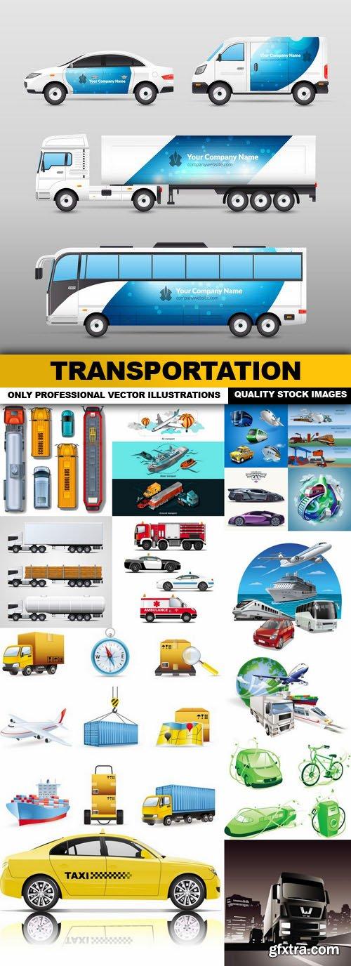 Transportation - 15 Vector