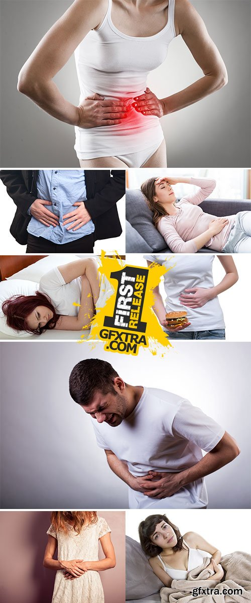 Stock Image Stomach upset