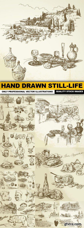 Hand Drawn Still-Life - 10 Vector