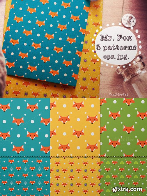 Mr. Fox Pattern - CM 141654