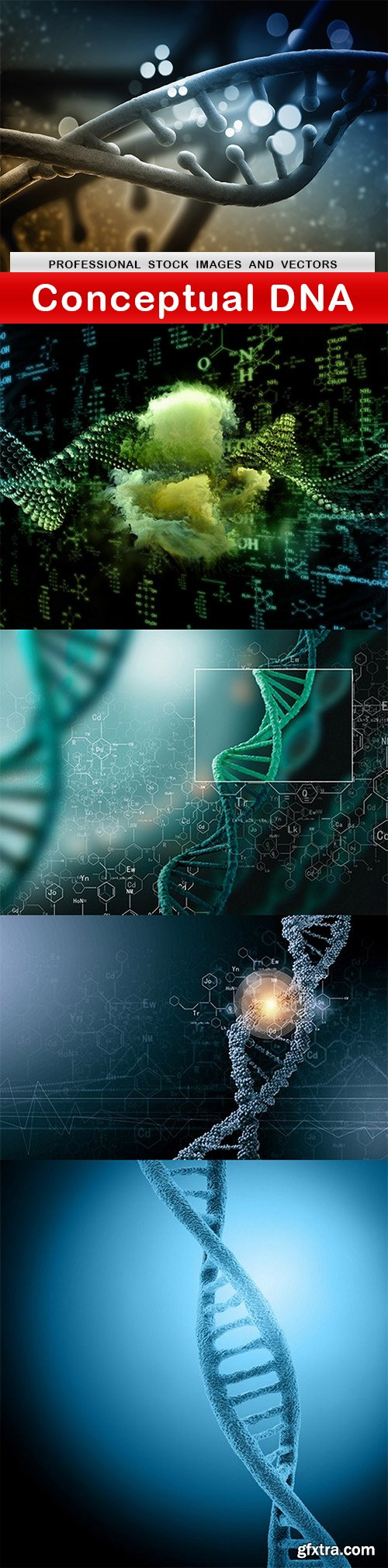 Conceptual DNA - 5 UHQ JPEG