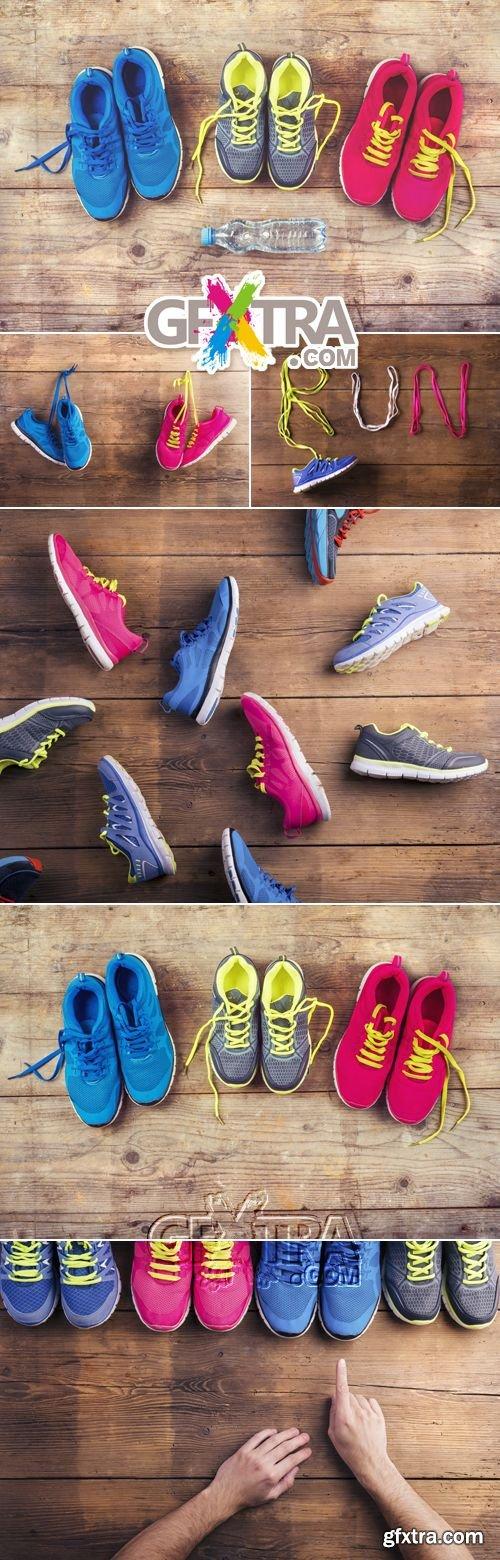 Stock Photo - Sport Concept - Sneakers
