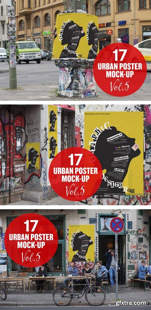 CM 294206 - Urban Poster Mock-up VOL.5