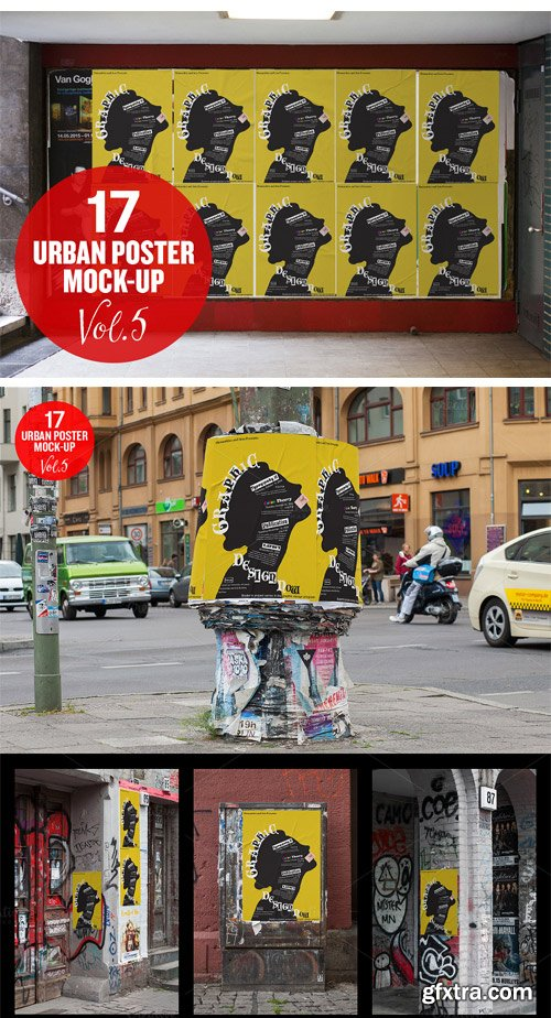 CM 294206 - Urban Poster Mock-up VOL.5