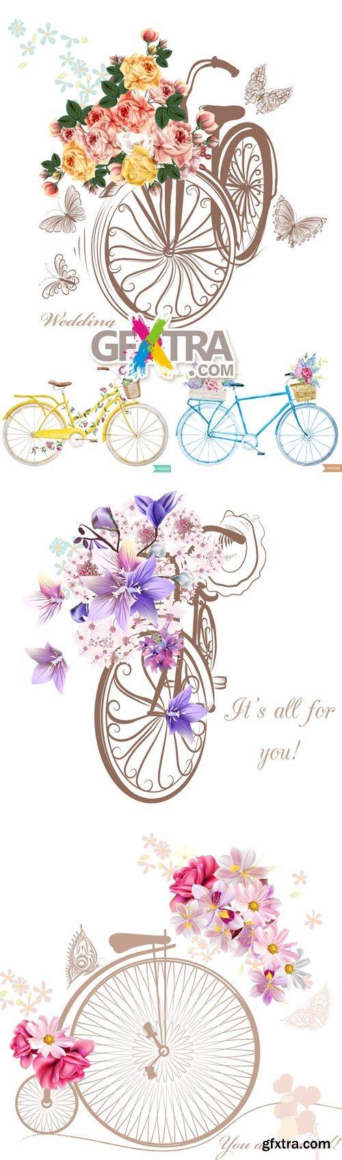 Bike, Bicycle Vector
