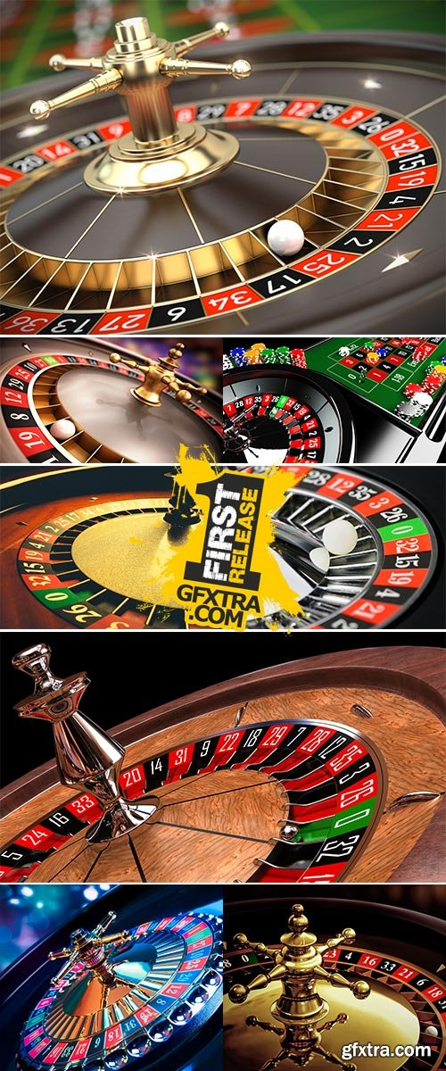 Stock Image High contrast image of casino roulette