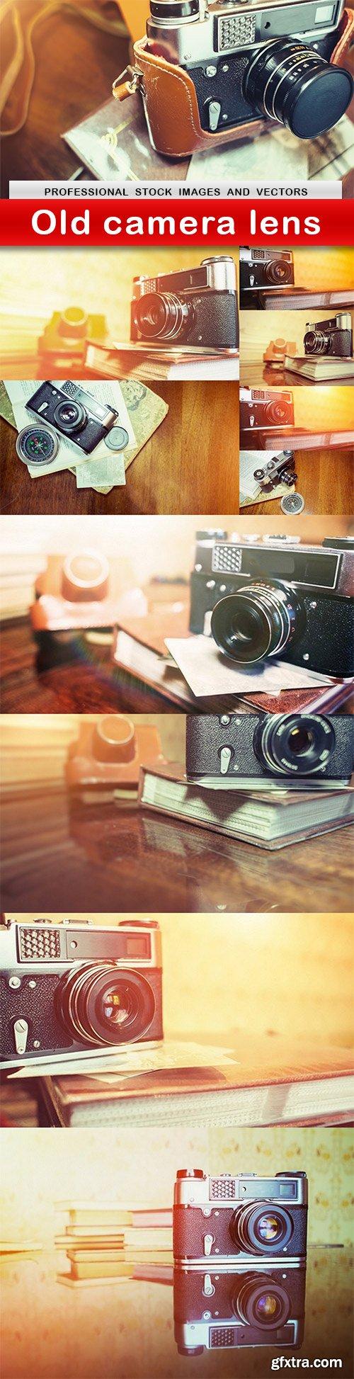 Old camera lens - 11 UHQ JPEG