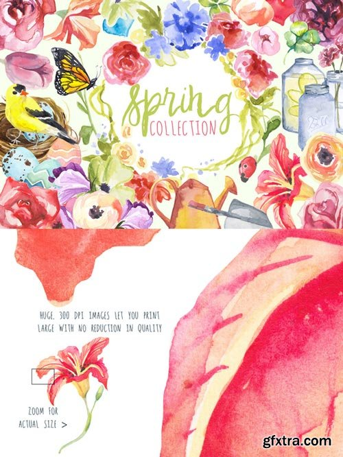 CM - Watercolor Spring Collection - 193757