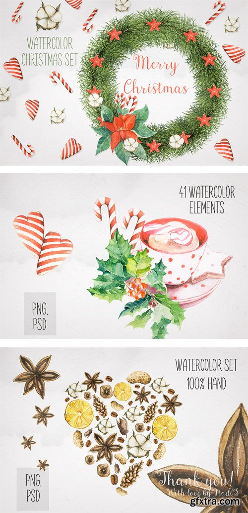 CM 371029 - Christmas and New Year Set