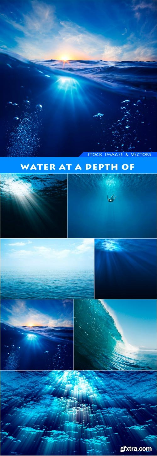 Water at a depth of 7X JPEG