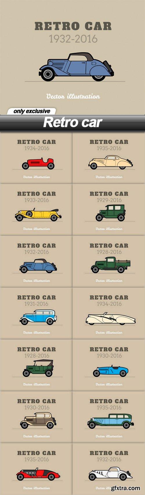 Retro car - 14 EPS