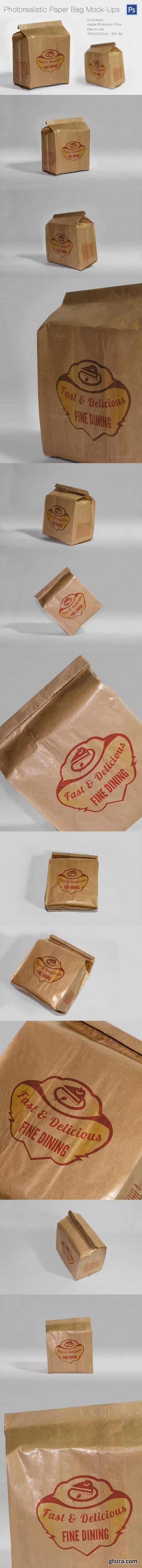 CM - Photorealistic Paper Bag Mock-Ups 416368