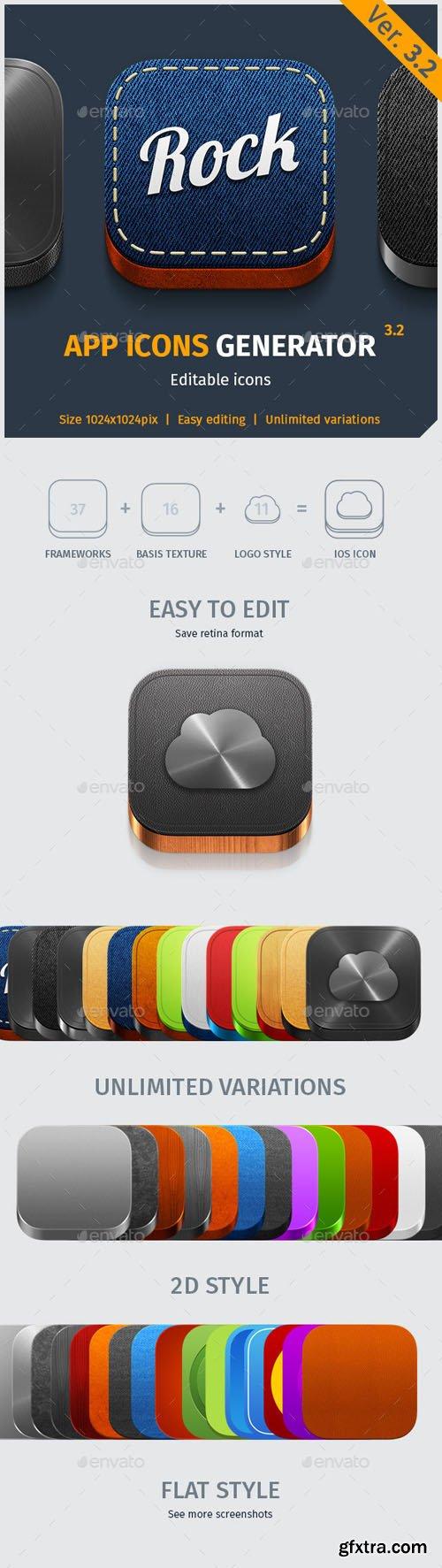 App Icon Generator V.3.2 - Graphicriver 6654272