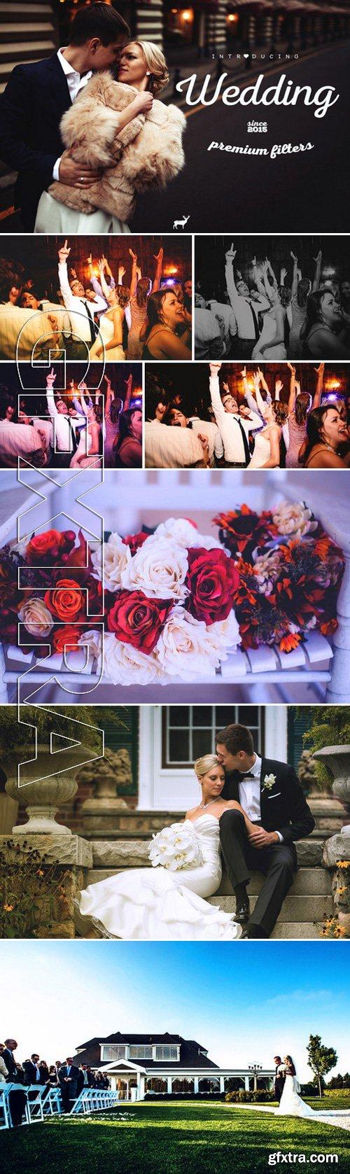 CM - Wedding Premium Filters - PS Actions 417909