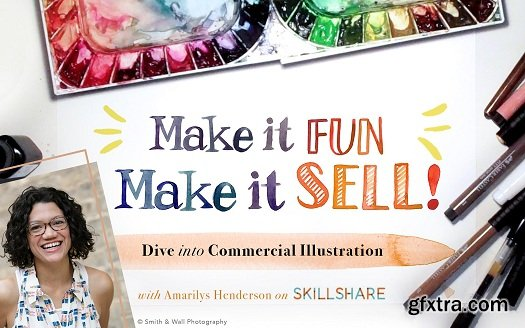 Make it Fun, Make it Sell: Dive Into Commercial Illustration
