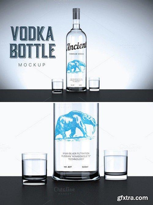 CM - Vodka bottle mockup 420852