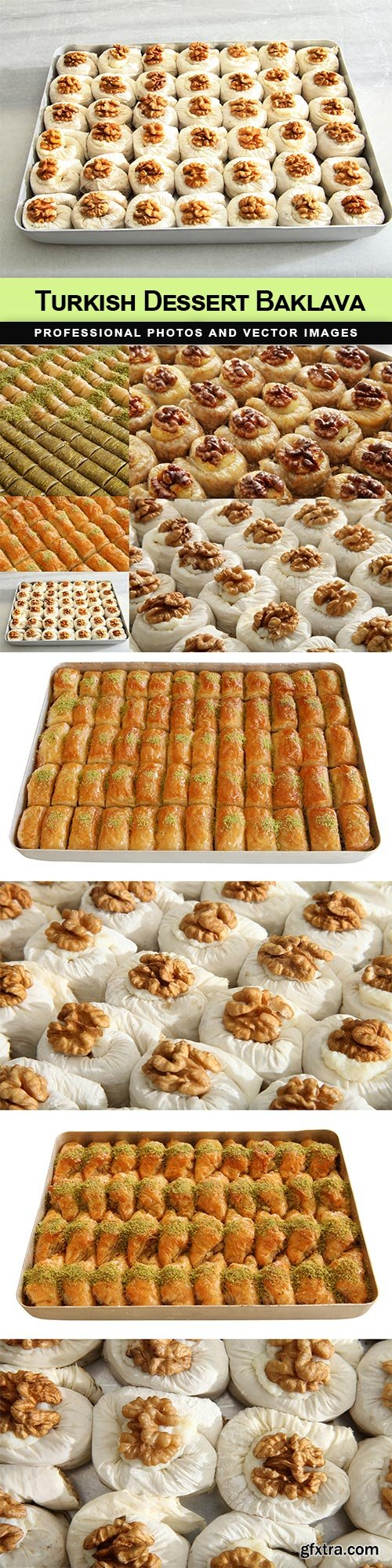 Turkish Dessert Baklava - 10 UHQ JPEG