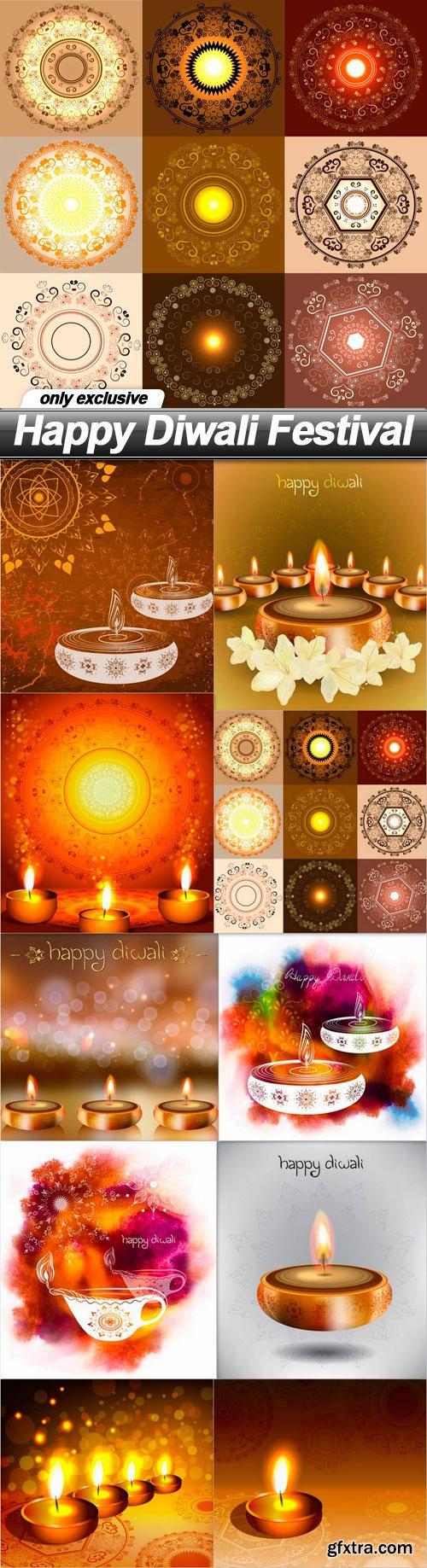 Happy Diwali Festival - 10 EPS