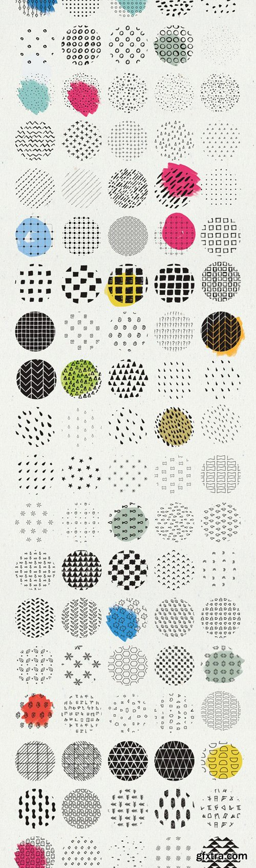 CM - HandSketched Seamless Pattern Pack 415442