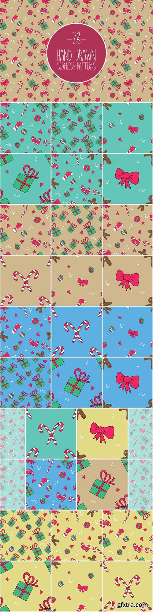 Christmas patterns set - CM 399098