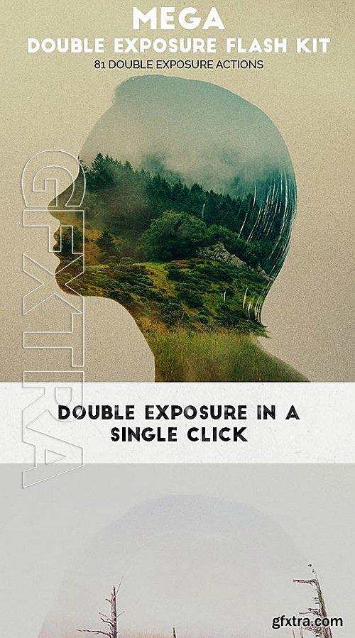GraphicRiver - Mega Double Exposure Flash Kit 12423406