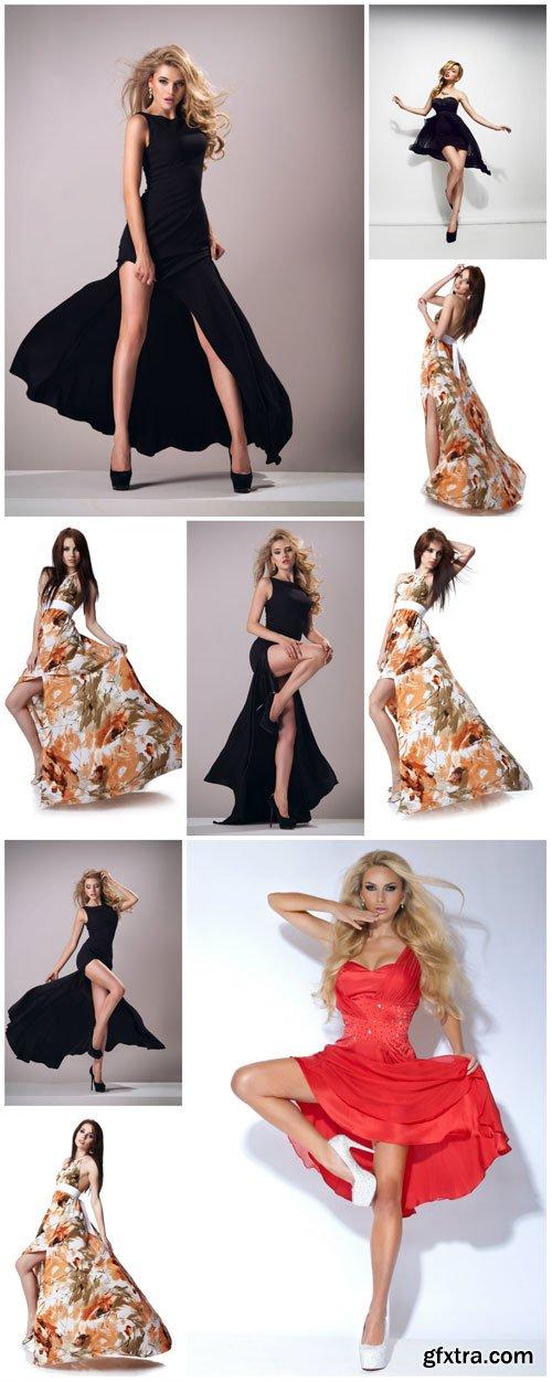 Women in Long Dresses Fashion 10xJPG