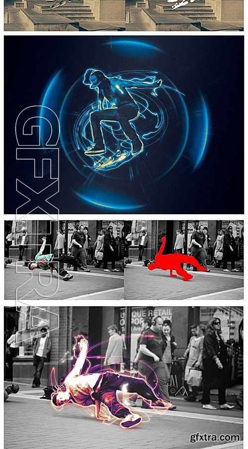 GraphicRiver - Dynamic - Photoshop Action 12352215