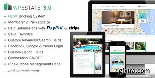 ThemeForest - WP Estate v3.03 - Real Estate Responsive WordPress Theme - 5042235