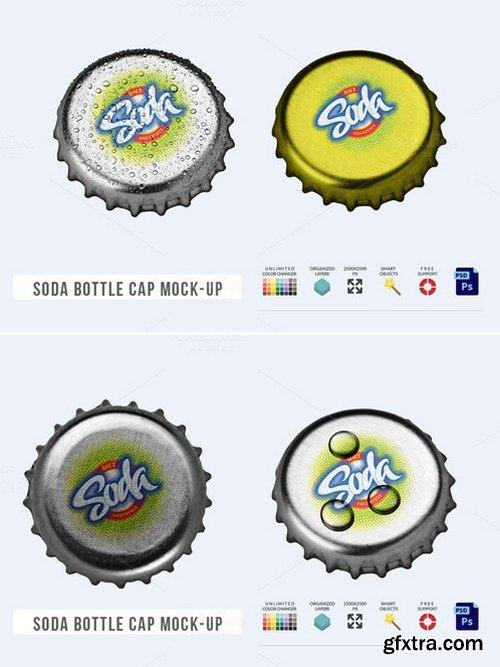 CM - Soda Bottle Cap Mock-Up 430711