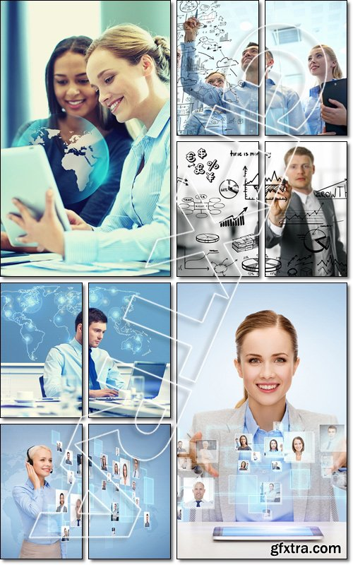 Business people at the meeting - Stock photo