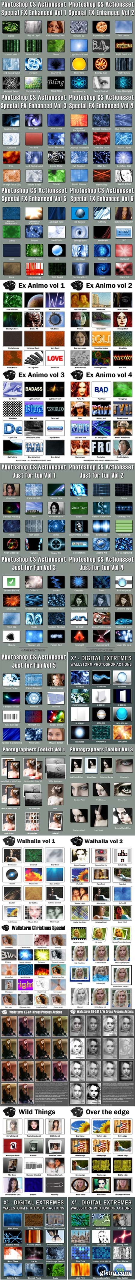 350 Actions for Photoshop