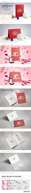 CM - Invitation / Greeting Card Mock-Up 432125
