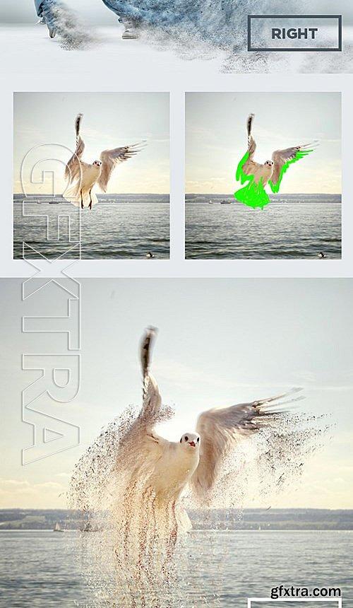 GraphicRiver - Dust Storm Photoshop Action 13597127