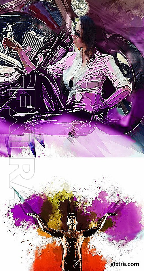 GraphicRiver - Craquelure Photo Effect 13574155