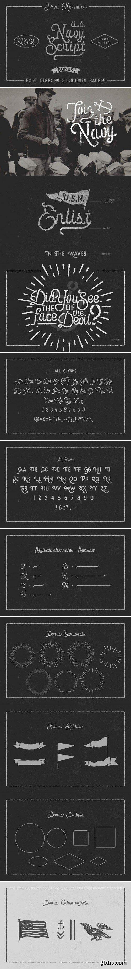CM - U.S.Navy Script and Freebies 434129