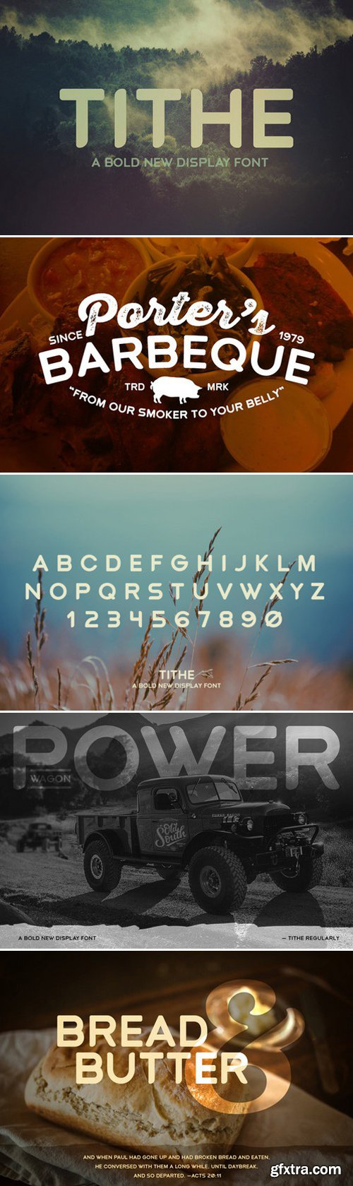 CM - Tithe - A Bold New Display Font 433769