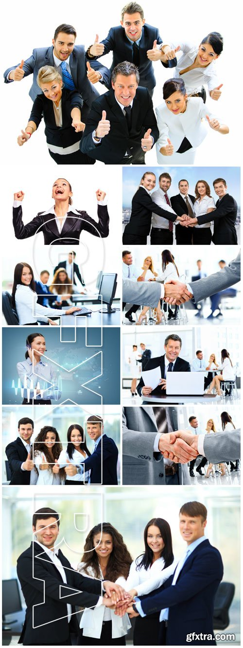 Business people collective