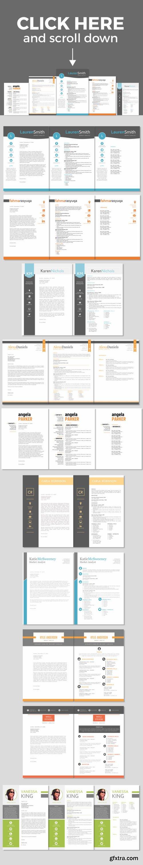 CM - 30 massive Word resume pack bundle 424063