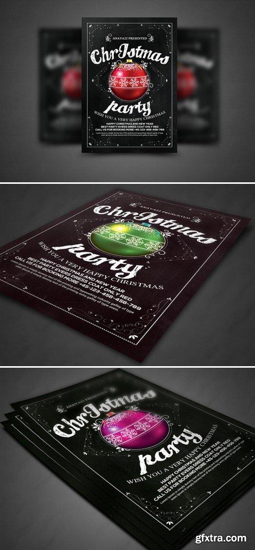 CM - Christmas Party Flyer Celebration 432194