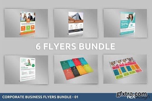 CM - Corporate Business Flyers Bundle - 01 432686
