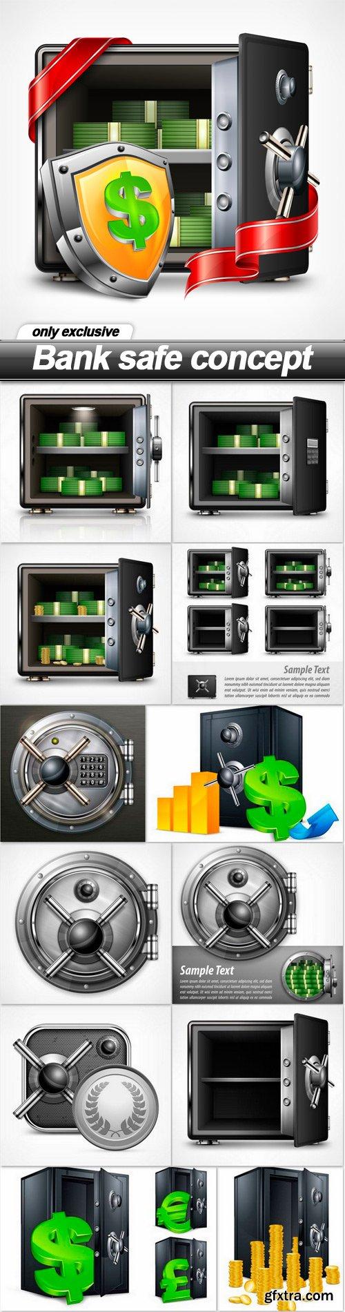 Bank safe concept - 13 EPS