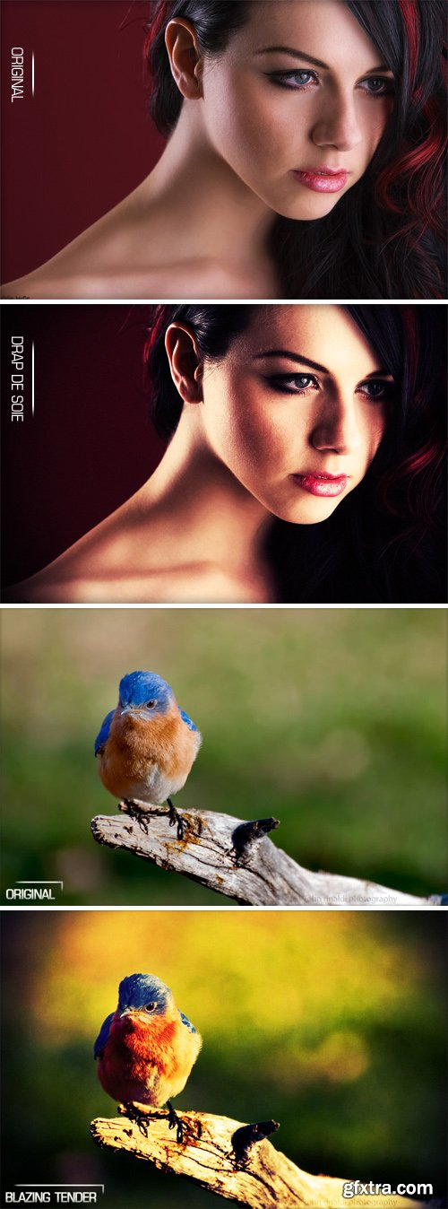 Photoshop Actions Pack 93