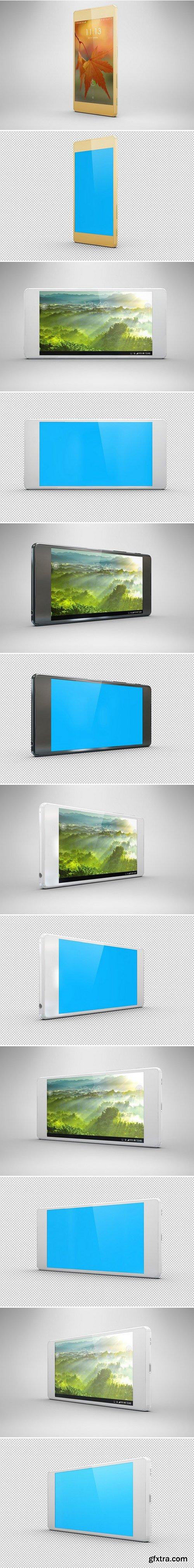 CM - Bundle Sony Xperia Z5 Mock Up 438664